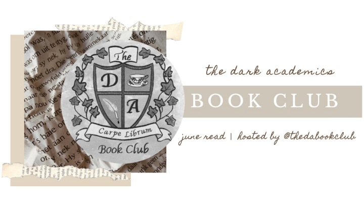 BOOK CLUB | The Dark Academics