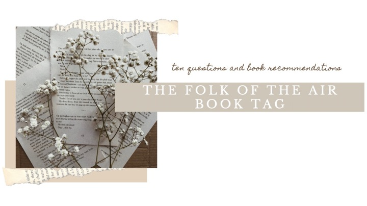 THE FOLK OF THE AIR BOOK TAG