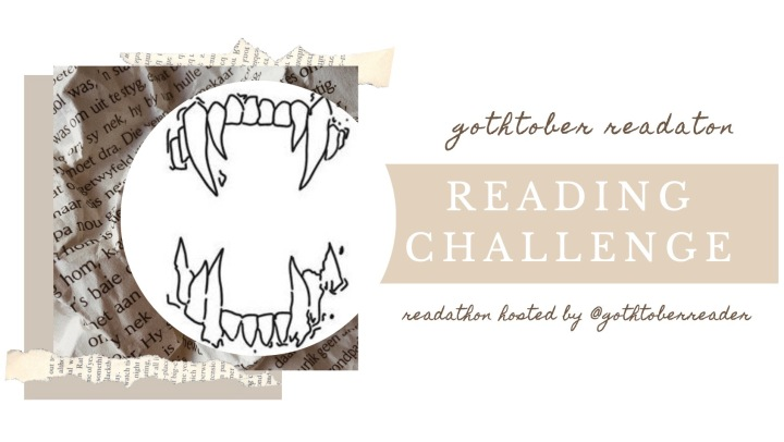 READING CHALLENGE | Gothtober Readathon