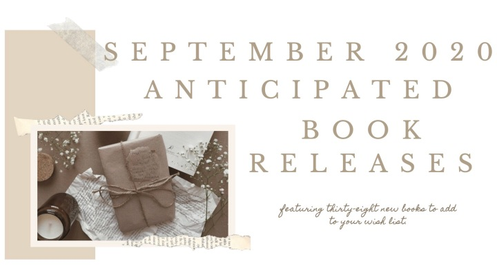 SEPTEMBER ANTICIPATED BOOK RELEASES