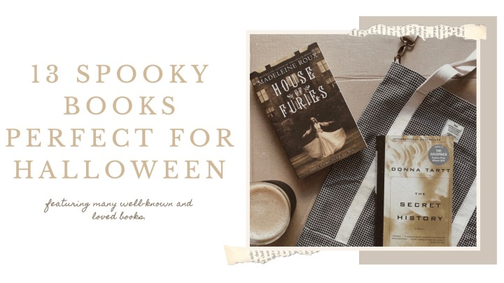 13 SPOOKY BOOKS PERFECT FORHALLOWEEN