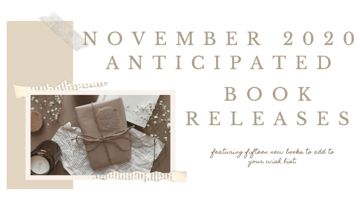 NOVEMBER ANTICIPATED BOOK RELEASES