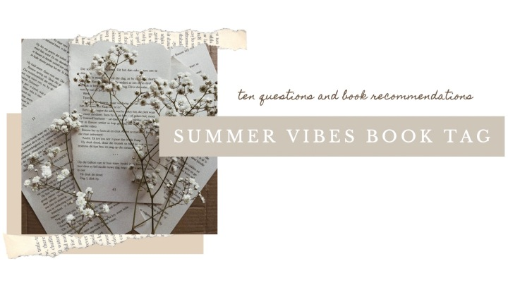 SUMMER VIBES BOOK TAG